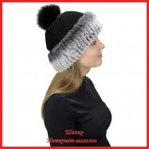 Трикотажная шапка Миранда 1 с кроликом