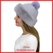 Трикотажная шапка Миранда 4 с кроликом