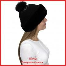 Трикотажная шапка Миранда 5 с кроликом
