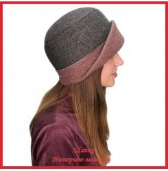 Драповая шляпка Молодейя 1