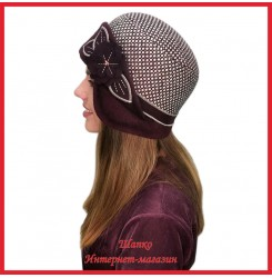 Драповая шляпка Молодейя 2