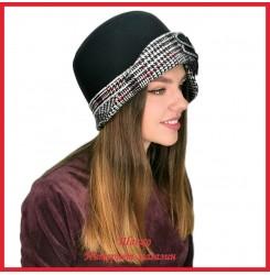 Драповая шляпка Молодейя 3