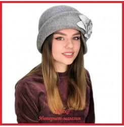Драповая шляпка Молодейя 4