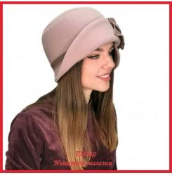 Драповая шляпка Молодейя 5