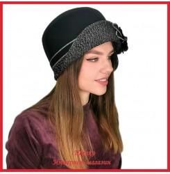 Драповая шляпка Молодейя 6