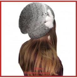 Вязаная шерстяная шапка Морвена