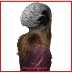 Вязаная шерстяная шапка Морвена 2