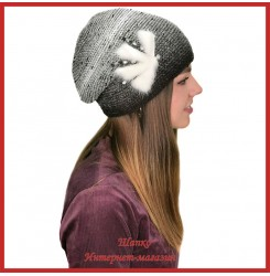 Вязаная шерстяная шапка Морвена 3