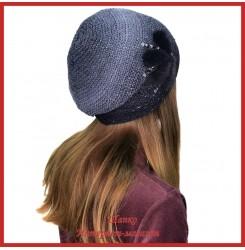 Вязаная шерстяная шапка Морвена 7