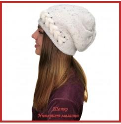 Вязаная шерстяная шапка Моуди 2
