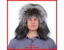 Мужские шапки из лисы