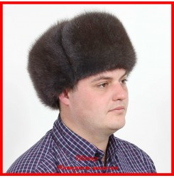 Меховая шапка из ондатры