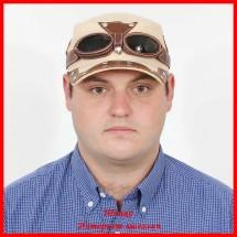 Кепка Пилот с очками