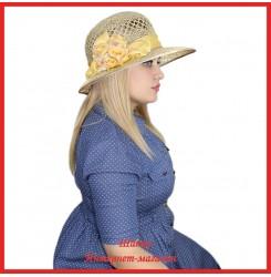 Шляпа Надара из рисовой соломки