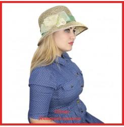 Шляпа Наджия из рисовой соломки