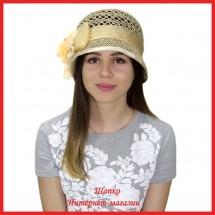Шляпка Наза из рисовой соломки