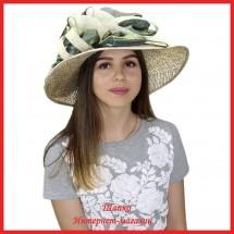 Шляпа Назели из рисовой соломки