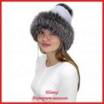 Трикотажная шапка с лисой Bluefrost Нелвия