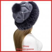 Трикотажная шапка с лисой Bluefrost Неста 5
