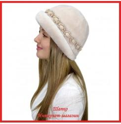 Меховая шляпка Нишель