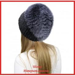 Меховая шапка из норки Нордика 2