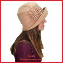 Шляпа замшевая Нутриция