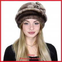 Шляпка из мутона Олексина 1