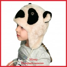 Шапка Панда 1 для детей