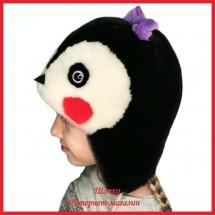 Зверошапка Пингвиненок для детишек