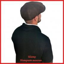 Замшевая кепка - восьмиклинка Родион
