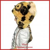 Детская зимняя шапка Совушка 1