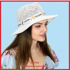 Шляпа Свити из рисовой соломки
