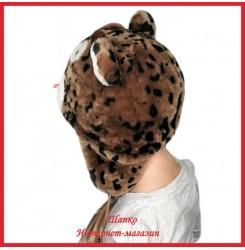 Детская меховая ушанка Тигренок 1