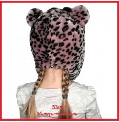 Детская меховая ушанка Тигренок 2