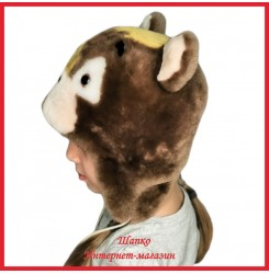 Детская шапка Топтыжка 1 из натурального меха