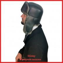 Современная ушанка Уильям 5 из норки Premium