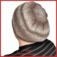 Вязаная мужская шапка Умар 1