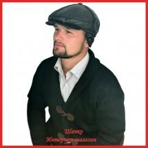Мужская кепка Якоб из тонкой кожи