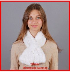 Меховой шарф Нежность