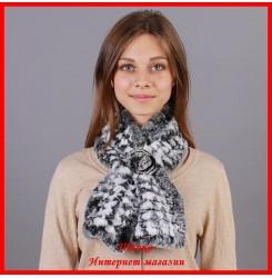 Меховой шарф Монро