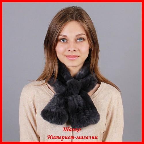 Меховой шарф Виола