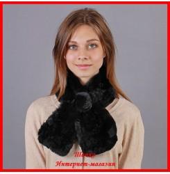 Меховой шарф Веста
