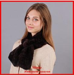 Меховой шарф Аленка
