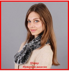 Меховой шарф Изабель