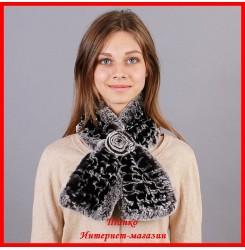 Меховой шарф Руно