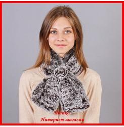 Меховой шарф Софья