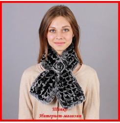 Меховой шарф Руно 1