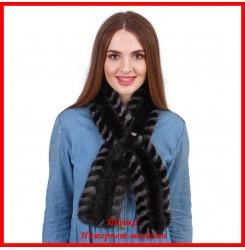 Меховой шарф из норки 1