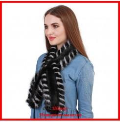 Меховой шарф из норки 3
