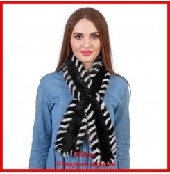 Меховой шарф из норки 6